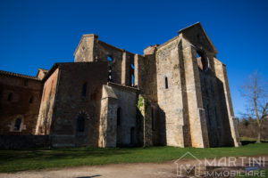 S. Galgano Chiesa Retro