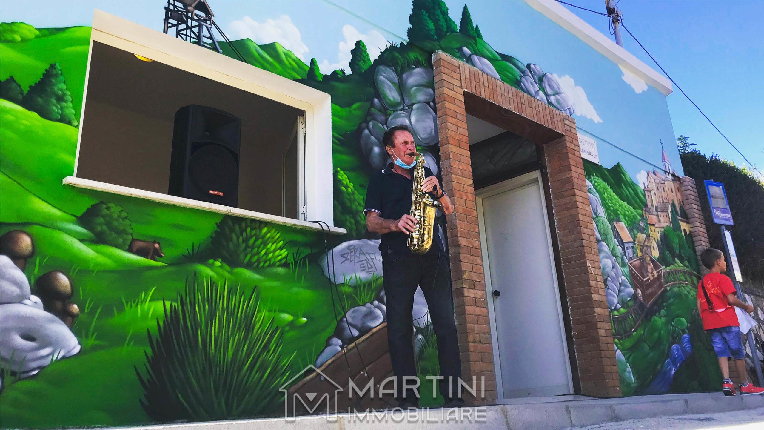 """Murales Boccheggiano """"Dalla Memoria alla Comunità"""""""