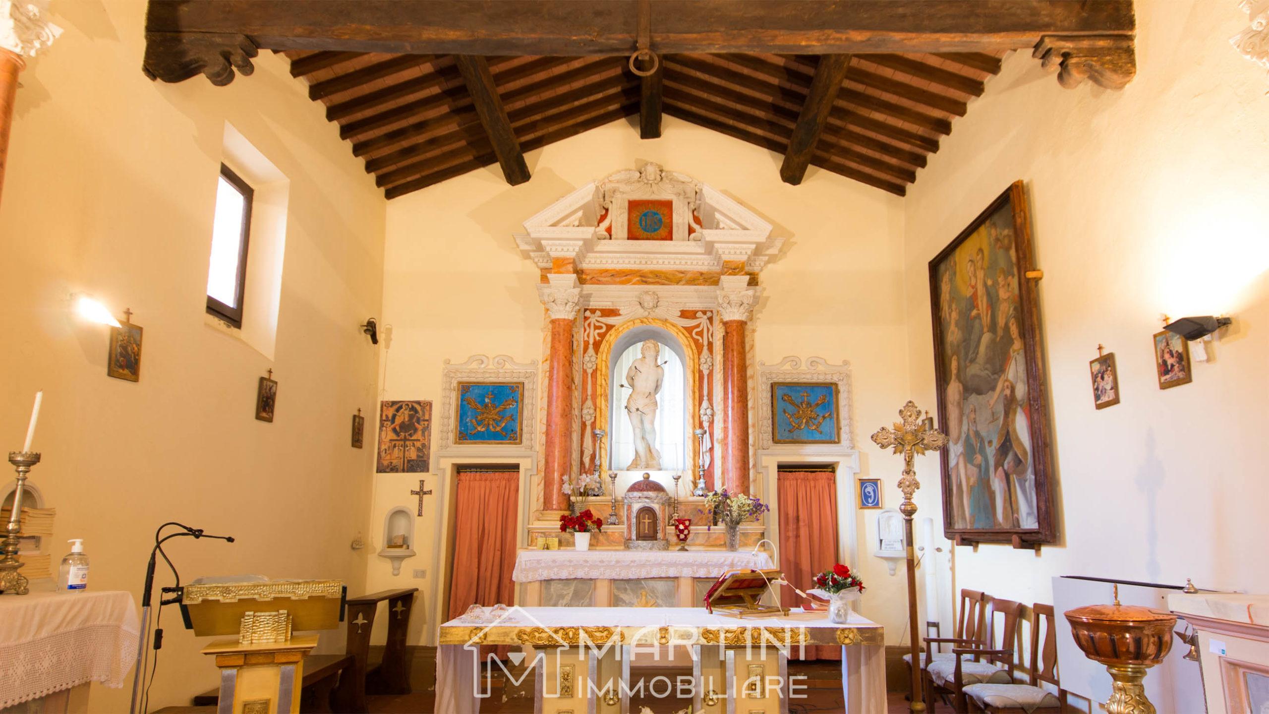 La Chiesa di San Sebastiano a Boccheggiano