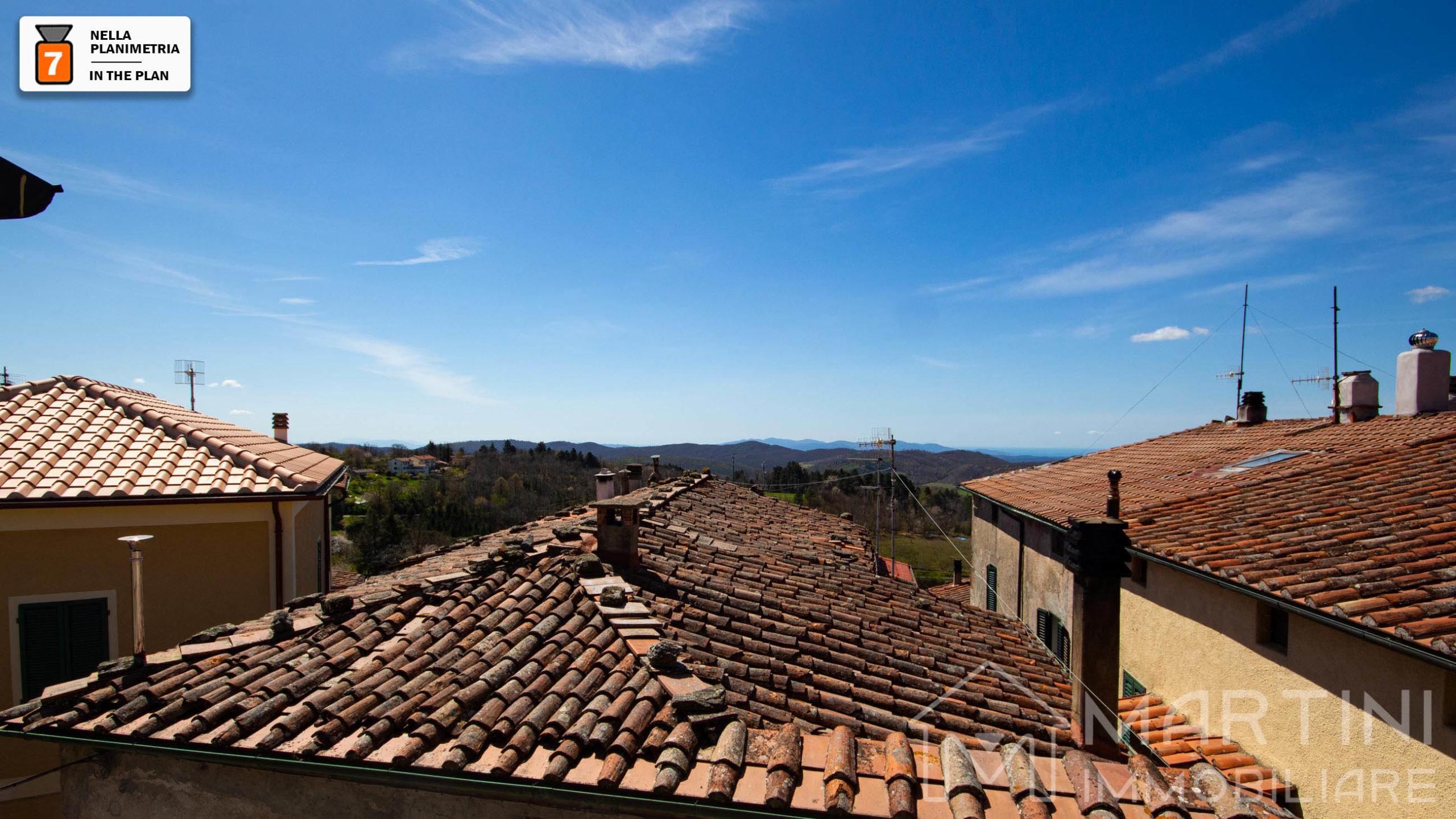 Trilocale con Piccolo Giardino e Vista Panoramica