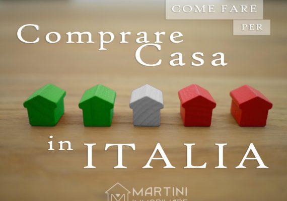 Come fare per comprare una casa in Italia