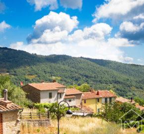 Casa con giardino a Montieri in Vendita